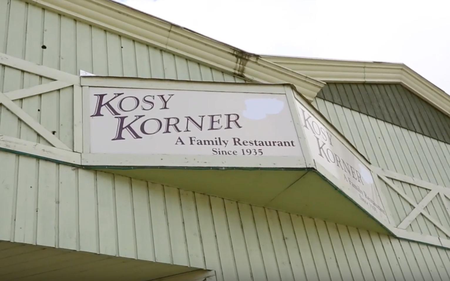 Kozy Korner restaurant Haliburton view of exterior