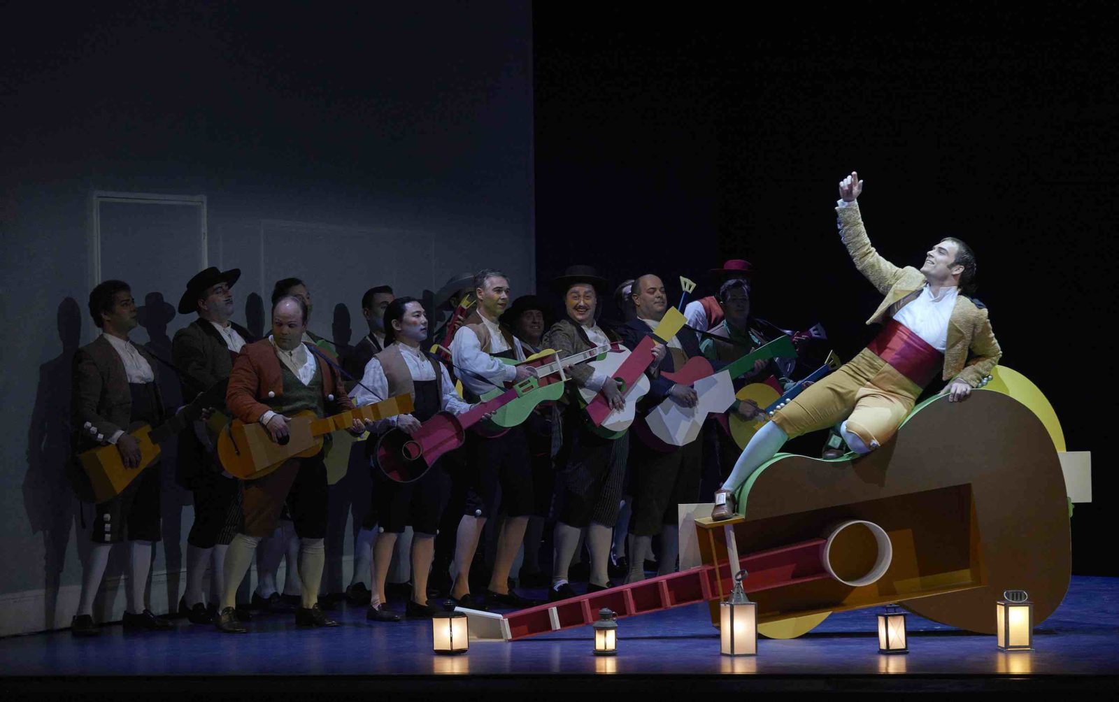 Cast on stage as the Canadian Opera Company 2020 seasons starts